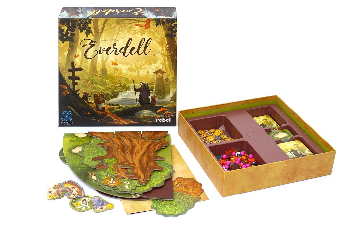 Everdell unboxing