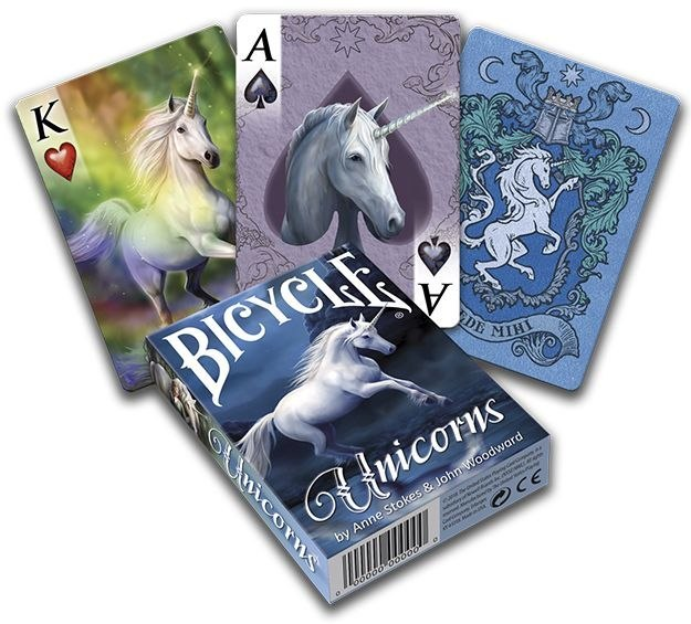 Bicycle: Unicorns by Anne Stokes